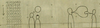 ELAG 2011 - kongressipaikan kerroskaiteiden koristelua (kuva: Laila Heinemann)