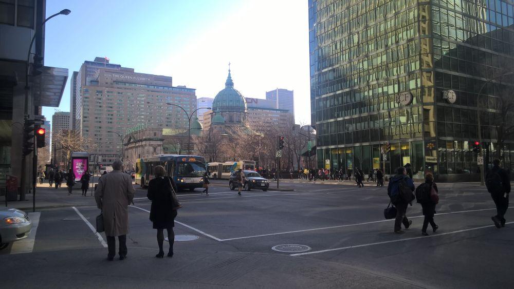 Kuva 1. Montrealin keskustaa