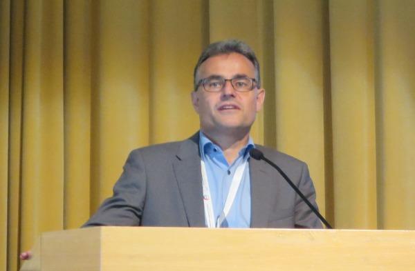 Kuva: Ralf Schimmer oli yksi konferenssin keynote-puhujista