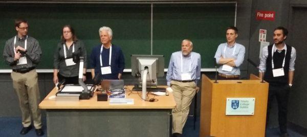 Kuva: DSpace-ohjausryhmä vastasi osallistujien kysymyksiin