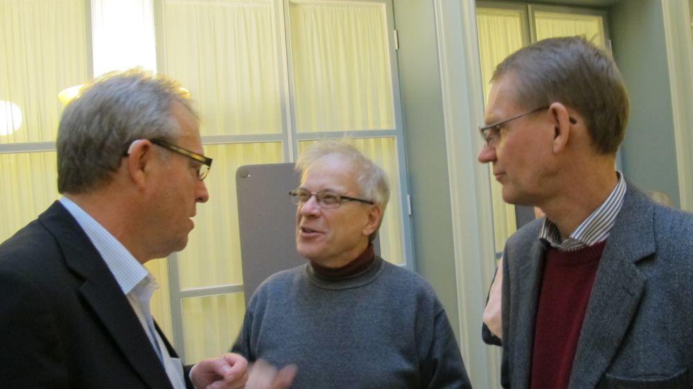 Lars Bjørnshauge, Claus Montonen ja Bo-Christer Björk.