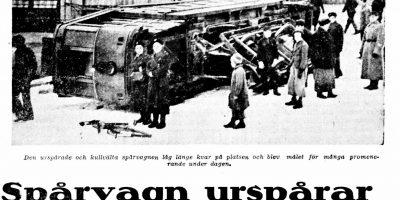 Esimerkki digitoidusta aineistosta: uutisleike, Hufvudstadsbladet, 7.11.1934