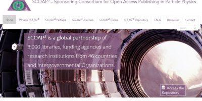 Kuva SCOAP3-konsortion verkkosivusta